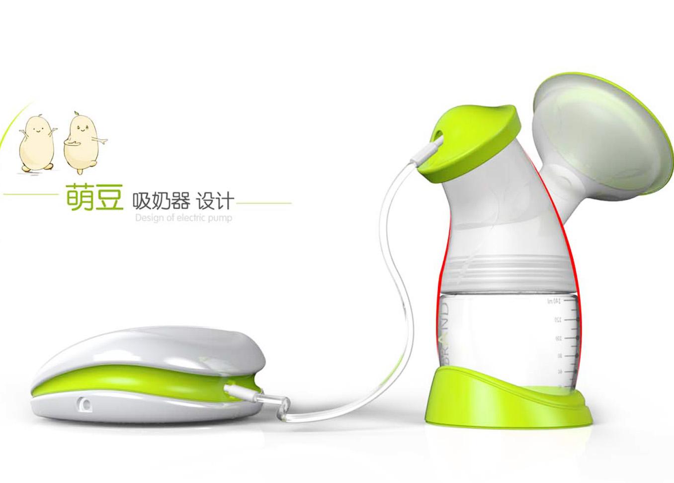 萌豆电动吸奶器