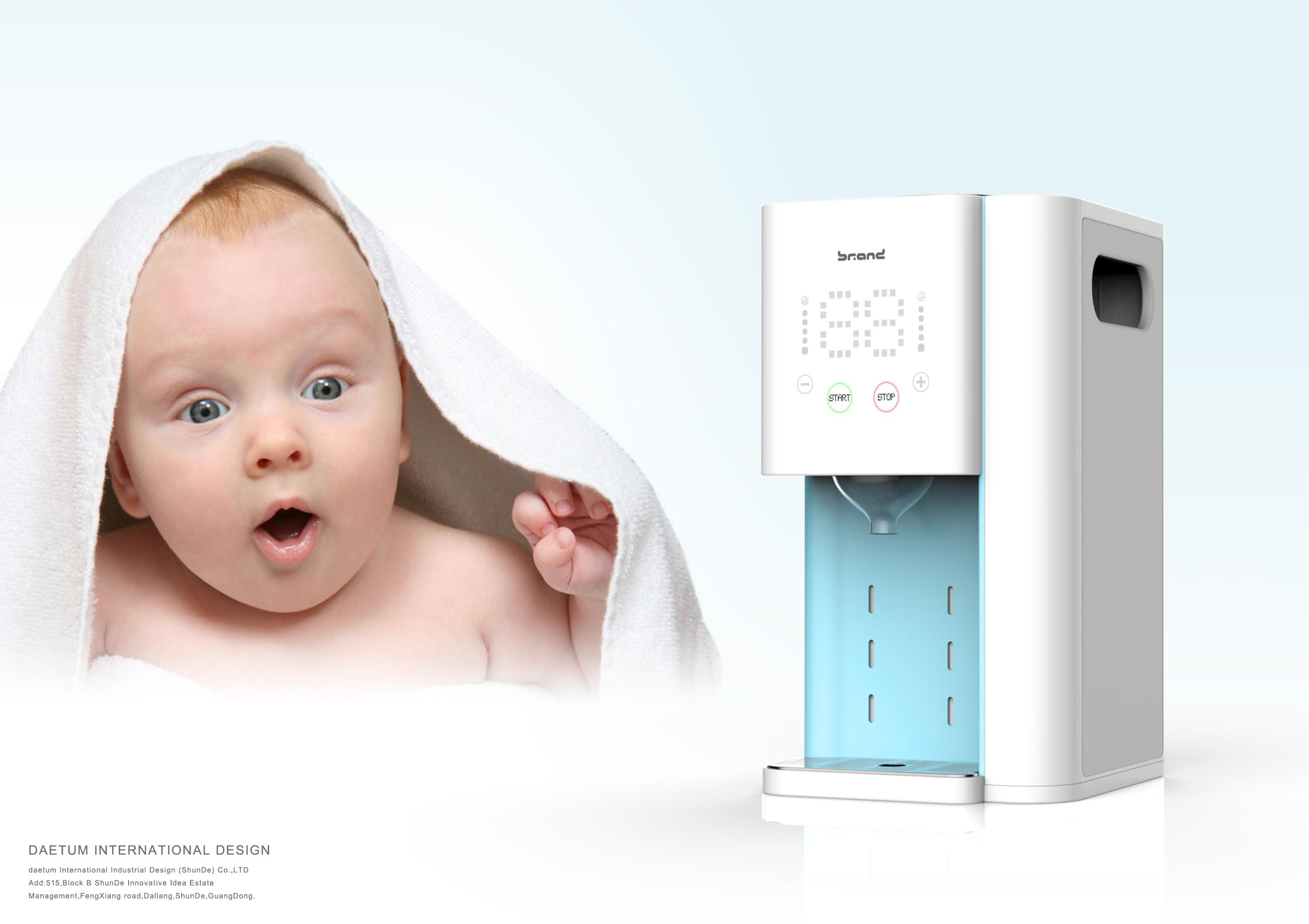 婴儿冲奶机设计开发