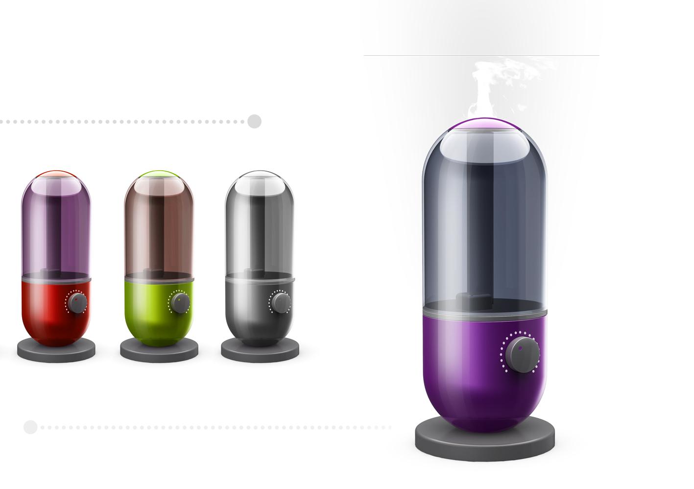 加湿器外观设计