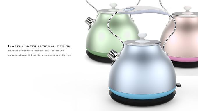 电炊壶外观设计
