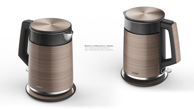 电水壶外观设计
