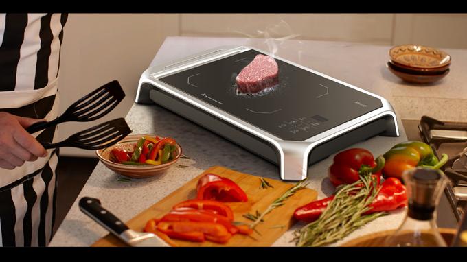 电烤盘外观设计