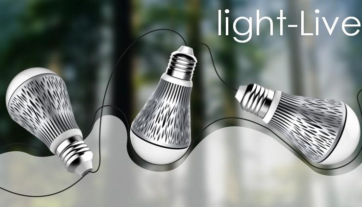灯泡外观设计