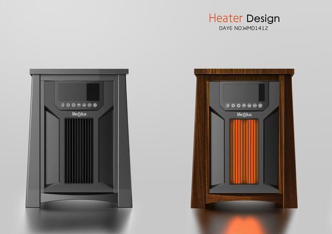 高端柜式取暖器