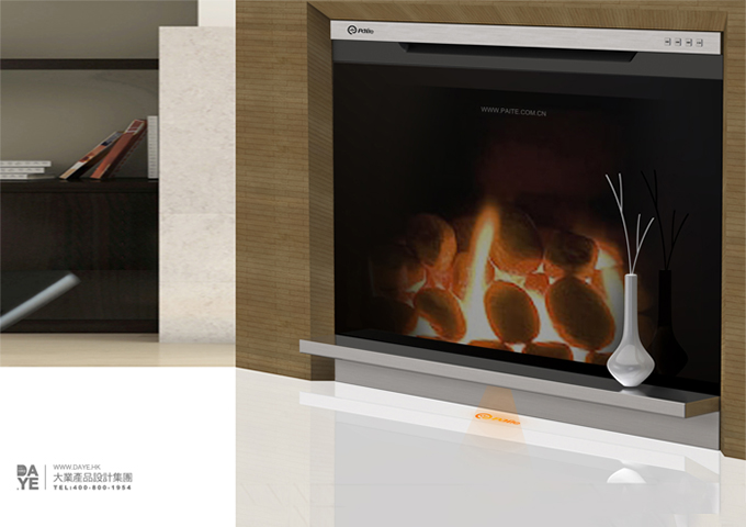 派特 时尚型电壁炉
