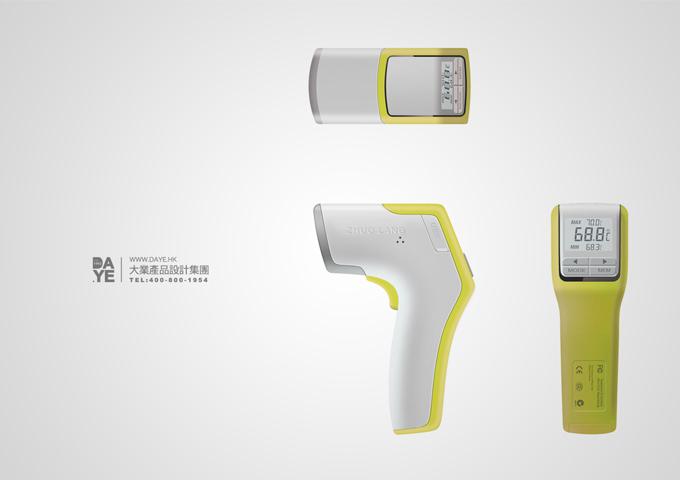 卓朗 手持式体温检测3