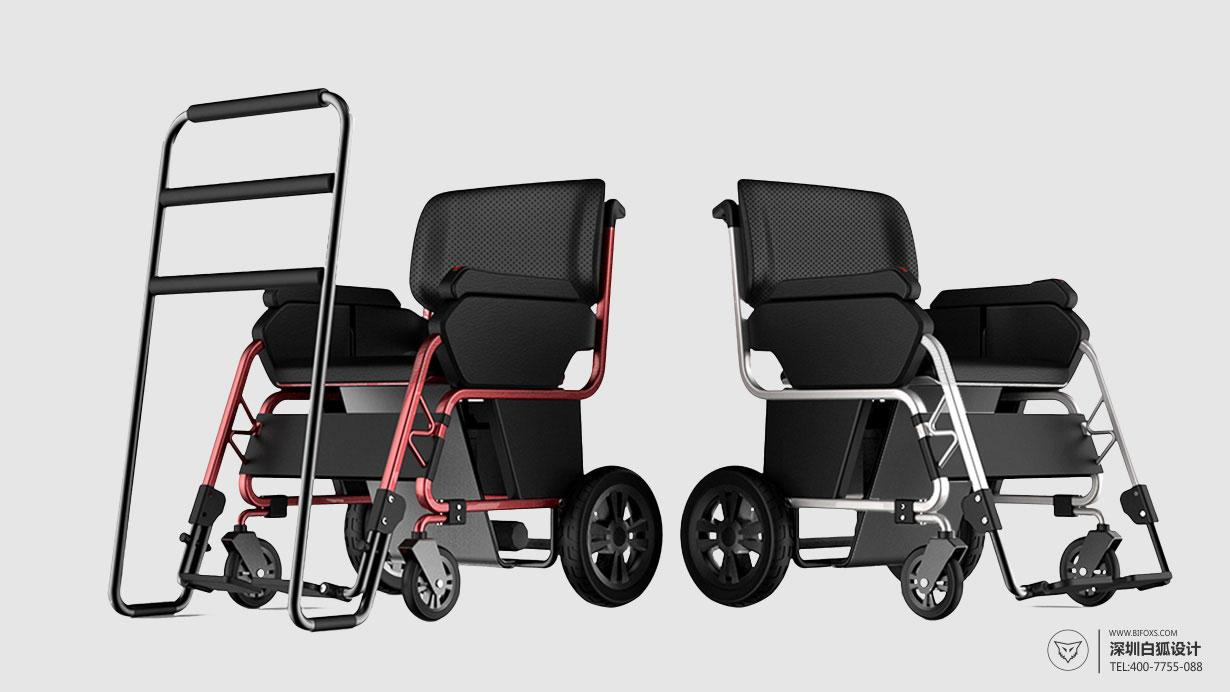 造福老年人的老人用品设计_康复轮椅设计