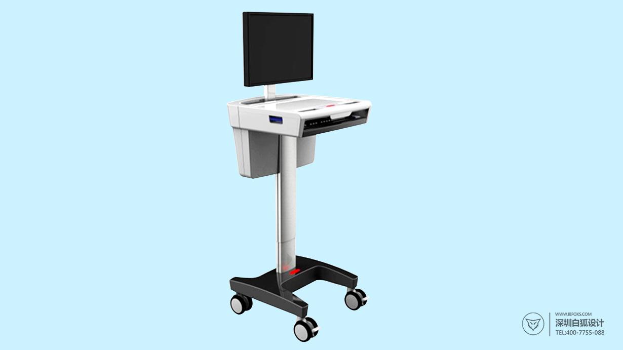 灵活实用的多功能医疗台车设计