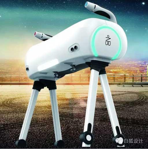 老人产品设计_辅助老人行走的智能搀扶机器人设计