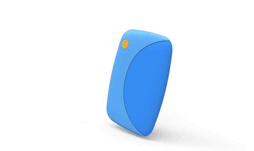 鹦鹉移动电源(外观结构设计)