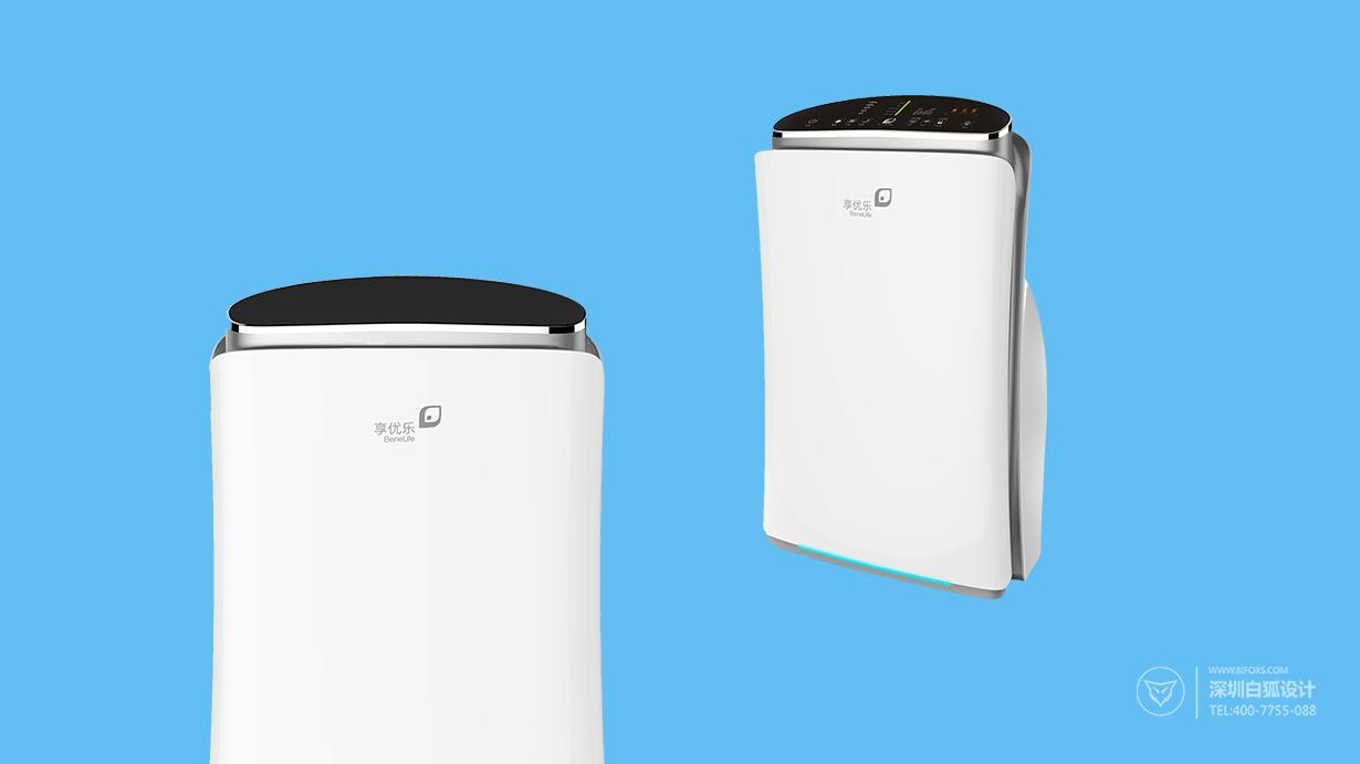 提供产品设计到生产的一站式服务_智能空气净化器设计