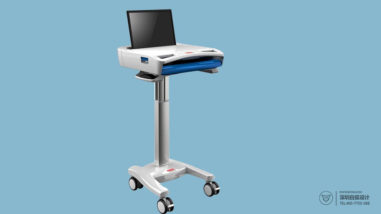 移动灵活的医疗推车设计