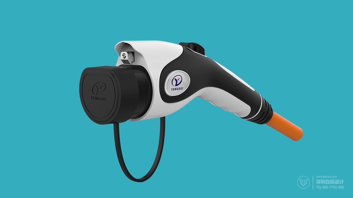 充电枪设计:优异的手持握感