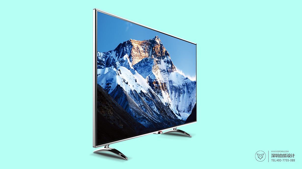 深圳工业设计-智能电视机外观设计超薄曲屏