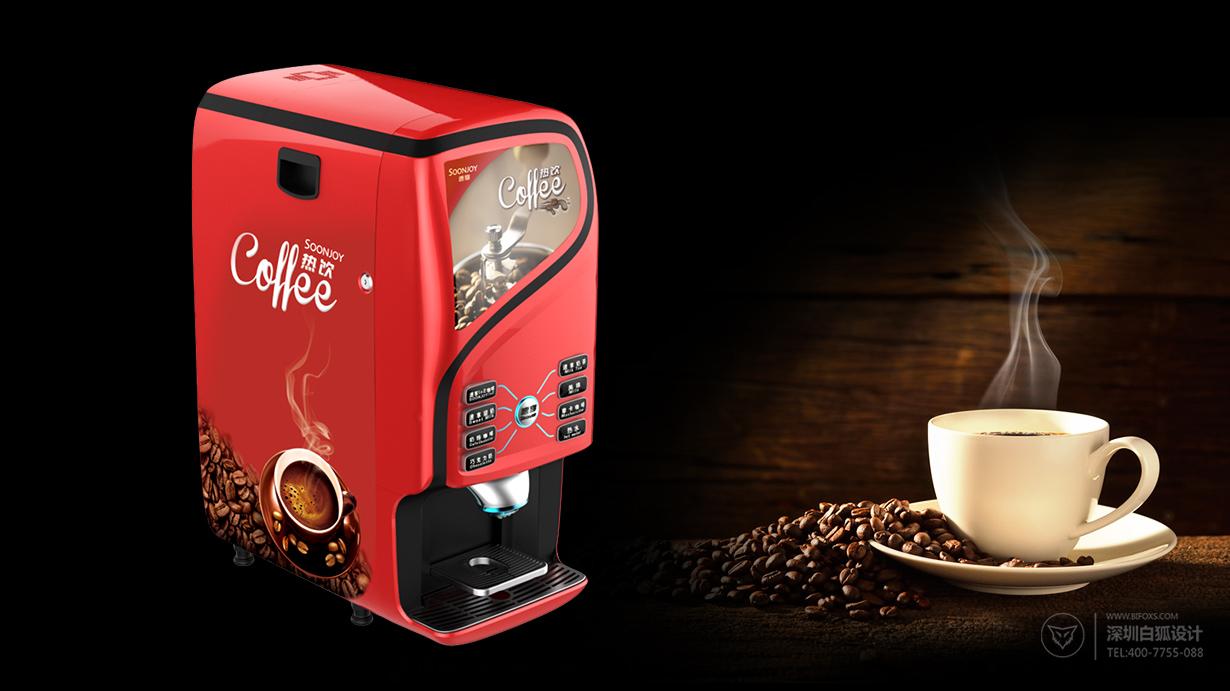 家用咖啡机外观设计极简,高贵享受