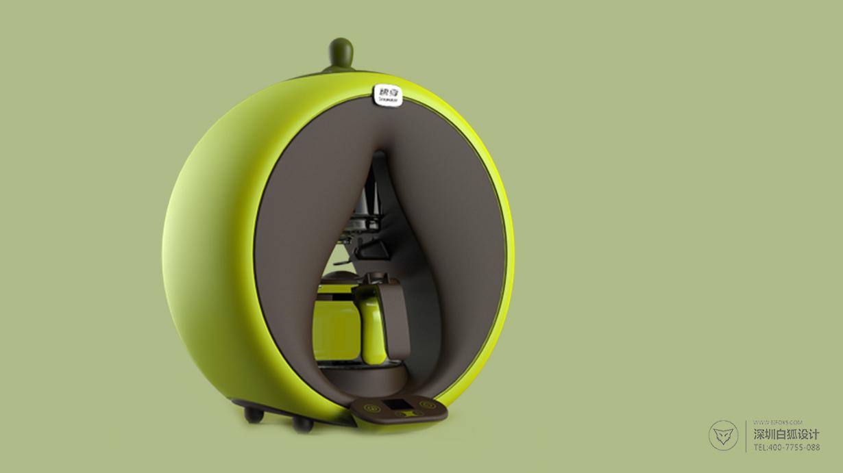 煮茶机设计|来自水滴的创意