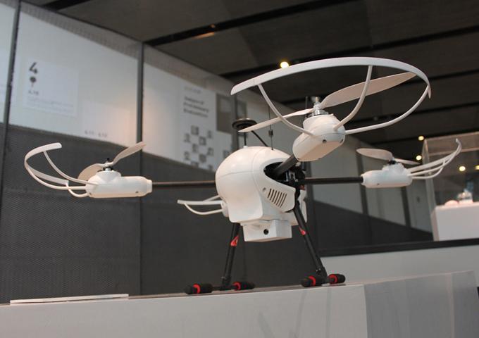 达鹏大气监测无人机设计