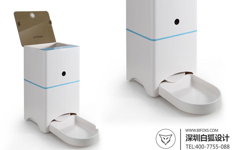 产品设计_宠物喂食器设计_白狐设计