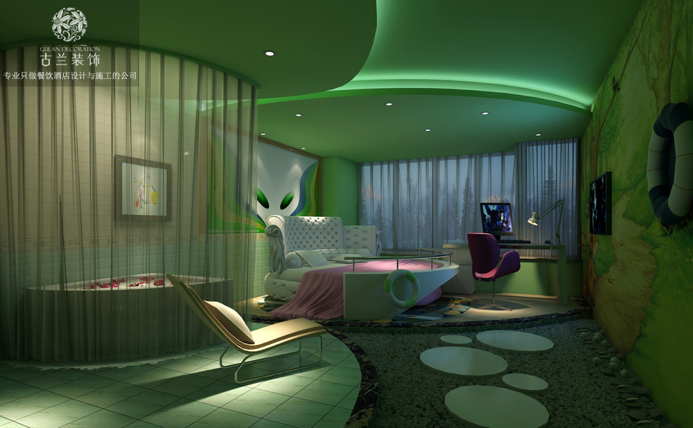 成都新都海伦酒店设计案例
