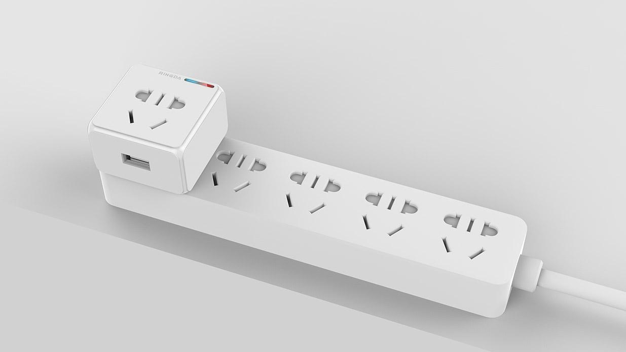 五种风格类型的智能插座设计